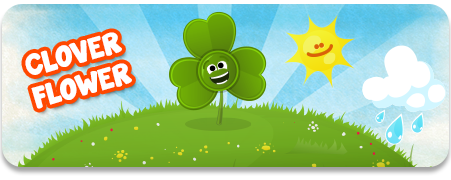 Clover flower game